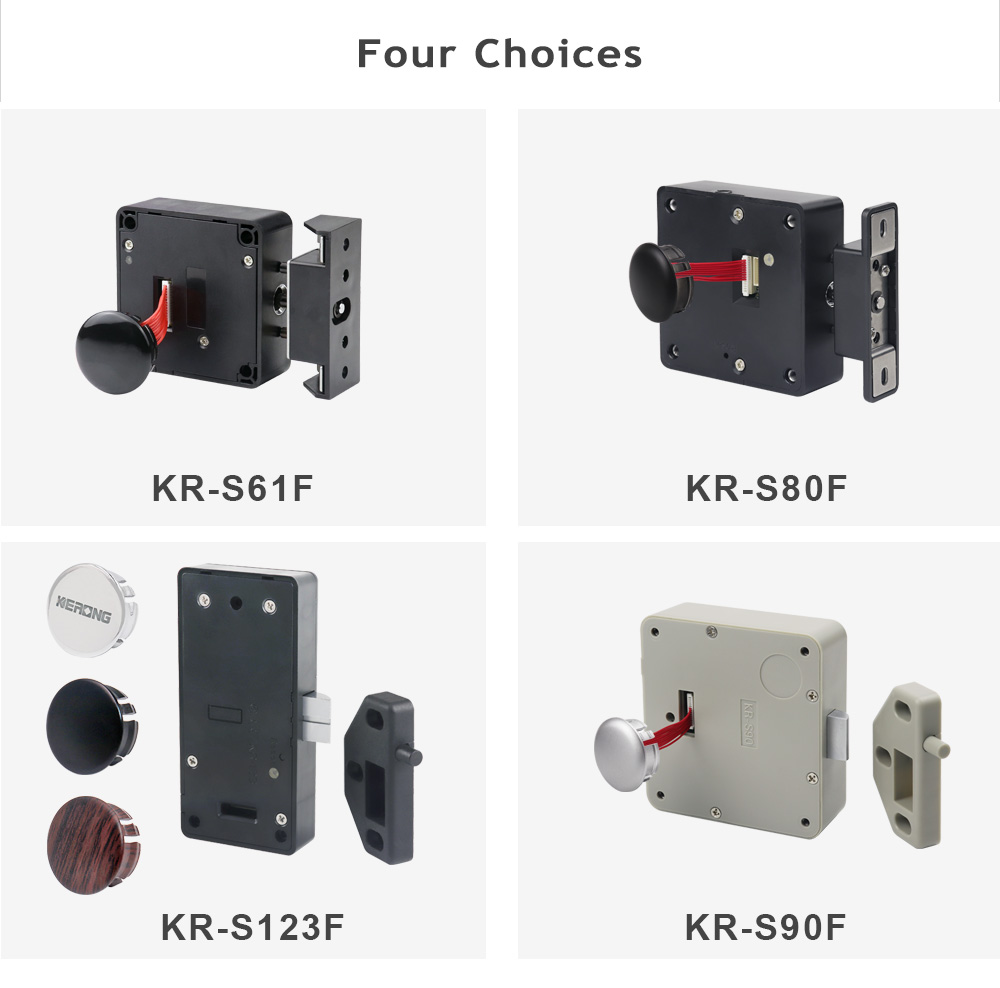 KERONG Electronic Small Smart Office Home Lock Manufacture Locks for RFID Lock Cabinet& Metal Cabinets with Timer