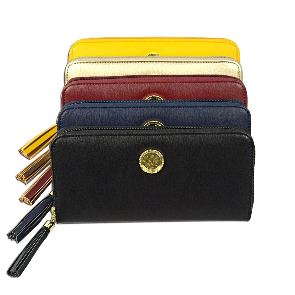 Wholesale price New Fashion Style Multi-functional Purse PU <strong>leather</strong> wallet <strong>Clutch</strong> Card Holder cion bags Women Long Wallets