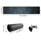 90w rollable amorphous silicon thin film solar cell flexible solar panel