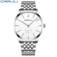 Роскошный бренд CURREN серебряные часы Мужские кварцевые Бизнес наручные часы модные часы Классический стальной ремешок часы Reloj Hombres(Китай)