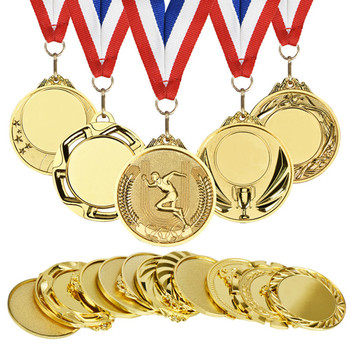 Amazon Hot Sale Blank Award Run Race Metal Gold Silver Bronze Medals Custom Medal