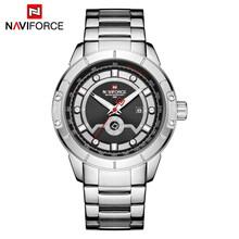 NAVIFORCE мужские часы лучший бренд класса люкс мужские модные золотые деловые Часы повседневные часы Дата и неделя дисплей наручные часы Relogio ...(Китай)