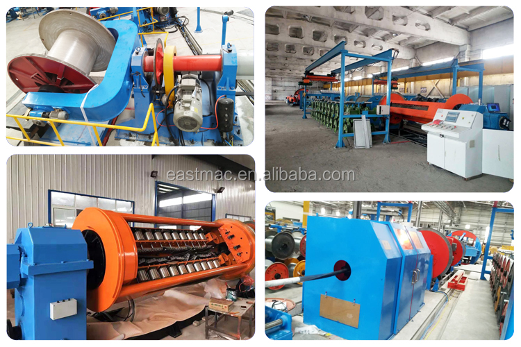 hot sale 2500mm drum twister type laying up machine with steel wire armoring for cabling big cable telephone cable