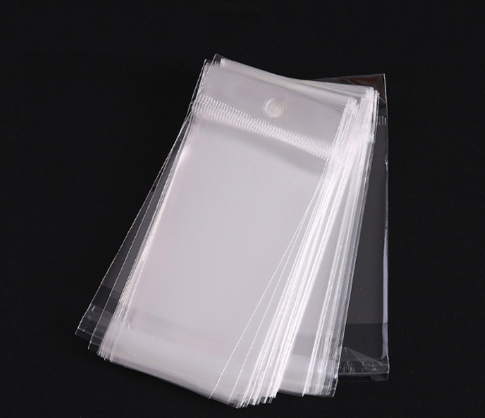 Factory Price Self Adhesive Bags The Socks Packaging Clear Opp bag