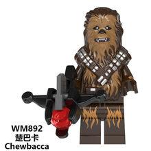 Legoed Baby Yoda Mandalorian голографическая Дарт Вейдер звезда Минифигурка войны строительные блоки Фигурки игрушки для детей X0287(Китай)