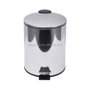 5L modern home furniture cheap recycle bin/food garbage can