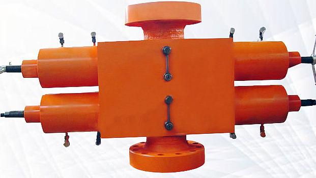 공장 도매 유전 API16A 2FZ35-70 유압 듀얼 Ram BOP 기계 Blowout Preventer
