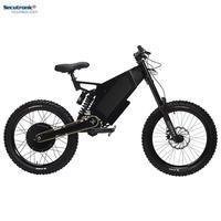 Fat Tire High Speed Long Range E Bicycle 5000 Watt Ebike, Europe Stealth Bomber Electric Bike 72V 5000W