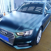Hot selling High quality matt chrome metallic car vinyl wrap