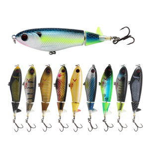 Gorgons hotsale 95mm 14g Topwater Whopper Popper Fishing Lures Bait with best price