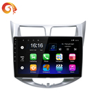Touch Screen 9 Inch Gps Navigation Android Car Audio Stereo Radio System Dvd Video Player For Hyundai New Verna 2010-2016