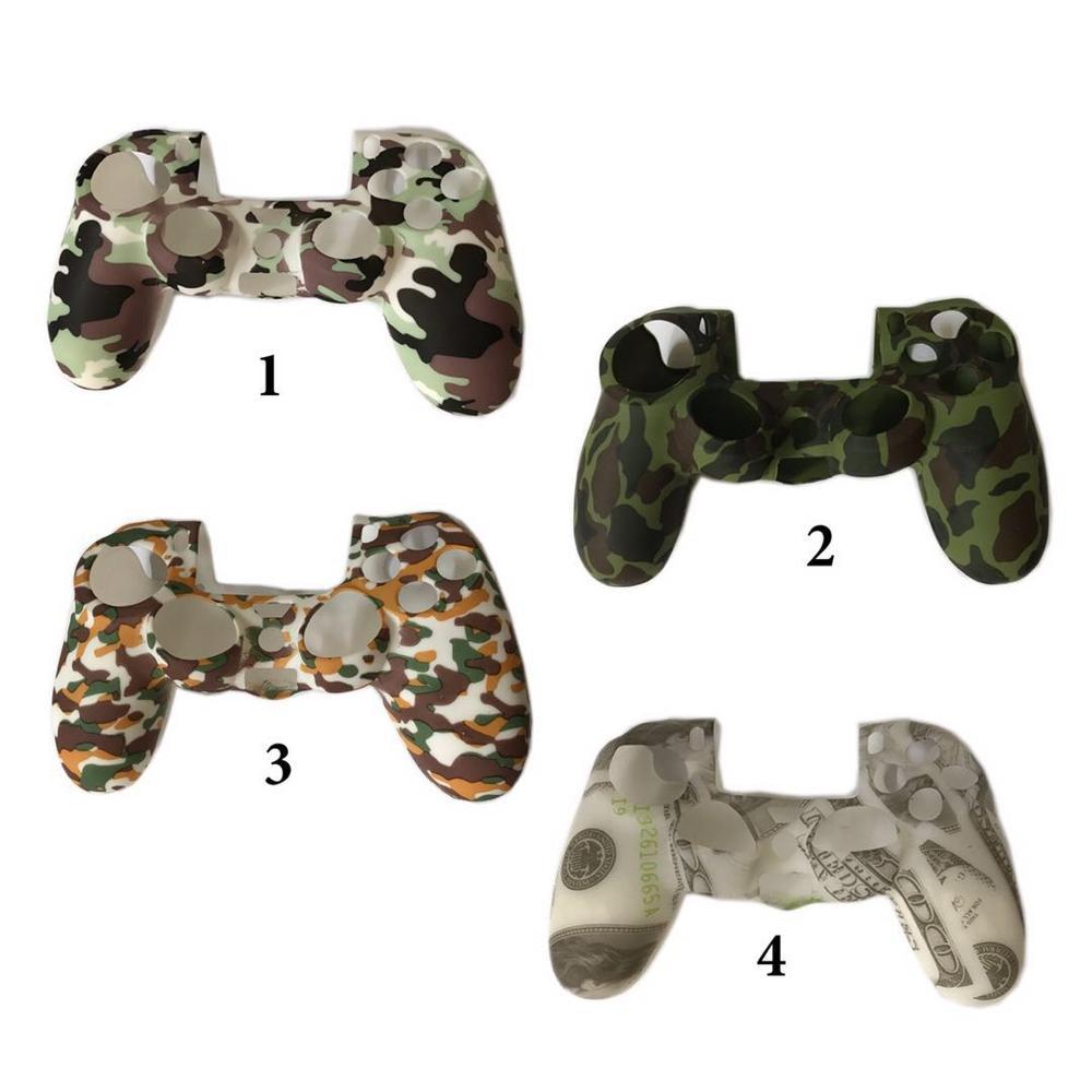 Đối Với Sony Play Station 4 Bảo Vệ Silicone Trường Hợp PS4 Bìa Da Silicone Bao Gồm Cho PS4 Điều Khiển