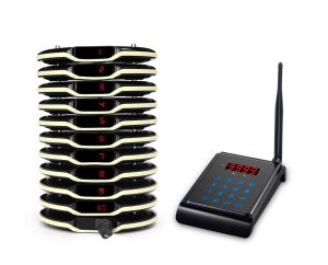 2019 latest type restaurant coaster pager / wireless calling system