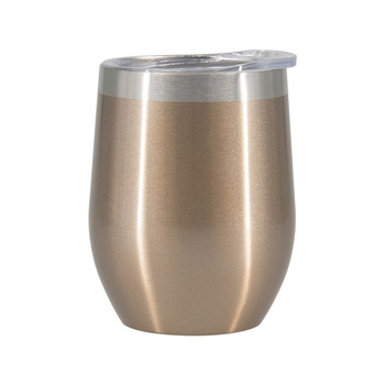 Shaker 8oz 9oz 270ml Durable Vacuum Insulated stainless steel gold custom wine tumbler for Drinking