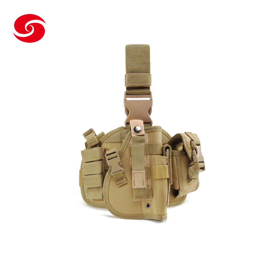 Fashion Polyester Outdoor Men's Tactical Waist Bag Gun <strong>Leg</strong> <strong>Holster</strong>