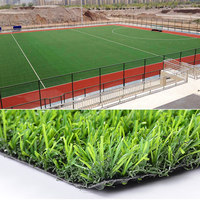 Wholesale Outdoor Soccer Tennis Golf Sports Flooring Green Synthetic Football Artificial Turf Grass For Football Field
