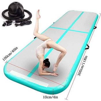 Outdoor fitness Inflatable bouncer gym mat for home