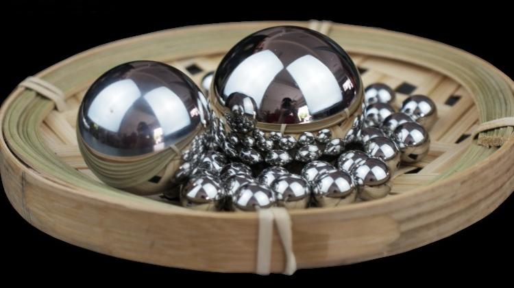 6mm ठोस कार्बन इस्पात गेंदों भारत G1000