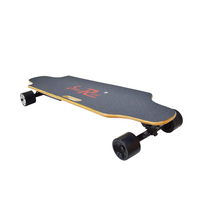 2020 Best selling cheap new 36v Lithium battery electric skateboard four wheels 90mm longboard for adult