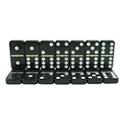 Dominos Domino Set Dominoes Classic Black Dominos With White Paint Domino Set From Dominoes Factory