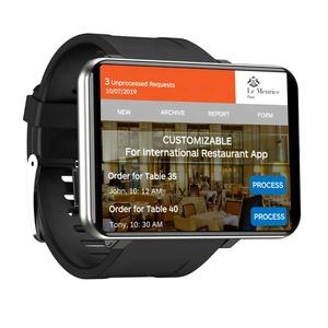 DM100 2.86 inch Android 7.1 Smart Watch 3GB + 32GB 4G GPS WiFi Smart Watch Men SmartWatch With Camera 2700mAh Battery