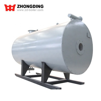 10 ton/h city gas fired thermal oil heater boiler for playground equipment