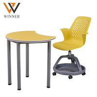 china school furniture desk and chair manufacturers height adjustable plastic student desk chair set