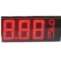 Whole sale led digit gas price sign with aluminum chassis hot sell in USA 888 8/10