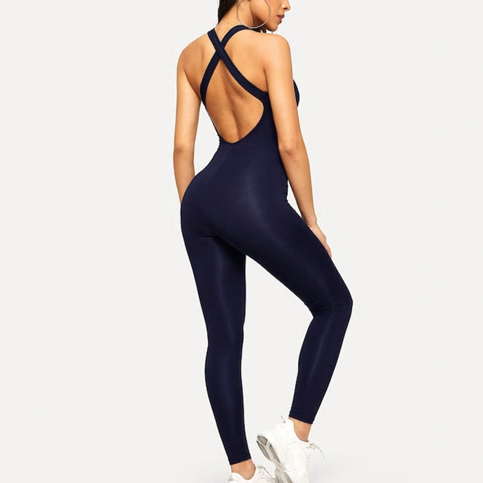 OEM Provider Woman Yoga Quality gym Wear Set Sportswear Jumpsuit