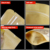 ZL Wholesale MOQ 300pcs Eco Food Grade Packaging Tea Coffee Baking Dry Fruit Stand Up Ziplock Retail PET And Kraft Paper Bag