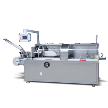 Automatic pharmaceutical carton box packaging machine sachet cartoning machine price