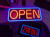 LED OPEN Sign Electric Billboard Bright Advertising Board Flashing Window Display Sign with Motion