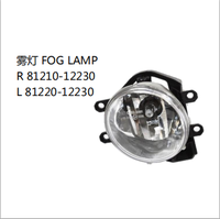 OEM R 81210-12230 L 81220-12230 FOR TOYOTA PRUIS 2012 AUTO CAR FOG LAMP
