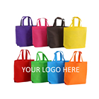 trading show non woven bag, cheap and high quality reusable shopping bag, non woven tote bag can be customized on your logo