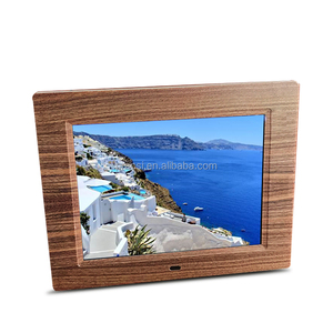 full function lcd video player 8 inch gift electronic photo frames with multi languages