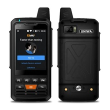Uniwa F5 3 Inci Layar 5MP <span class=keywords><strong>Kamera</strong></span> IP64 Tahan Air Smartphone PTT Radio 4G <span class=keywords><strong>Walkie</strong></span> <span class=keywords><strong>Talkie</strong></span>