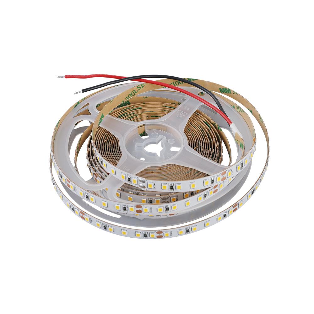factory direct sale high quality 5m roll smd 2835 flexible DC 12V 24V led strip light