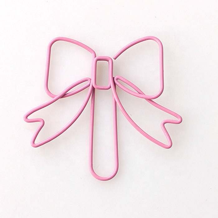Professional Customized Fancy Bow Paperclips