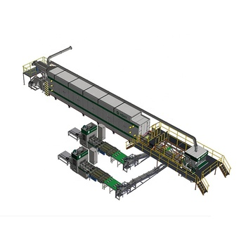Fully automatic paper pulp recycled moulding egg carton machine