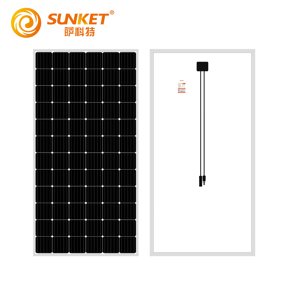home single solar panel monocrystalline 380w high efficiency mono paneles solares