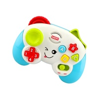 Hot Sell Battery Operated Baby Musical Toy Game Controller with Light and Music