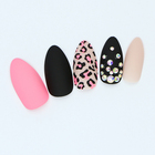 Senboma new fashion 3d false nails artificial finger application fake nails