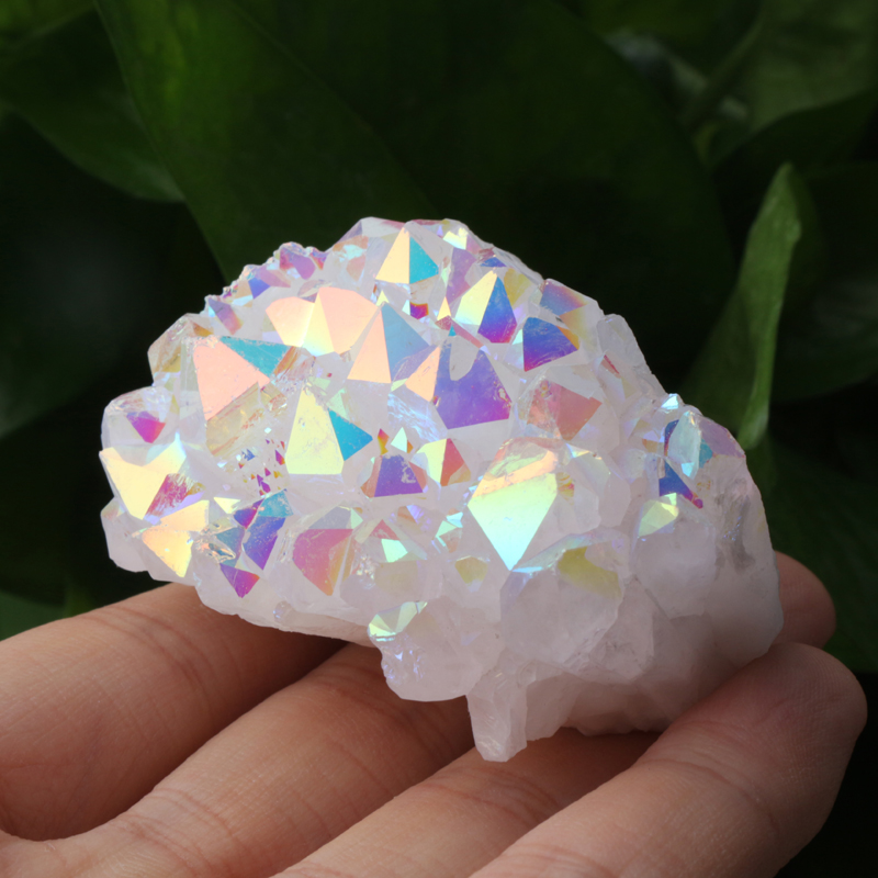 Wholesale Natural Large Reiki Rock Clear Quartz Crystal Cluster, Raw Unique Amethyst Aura Crystal Cluster