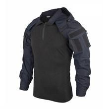 Тактическая рубашка BACRAFT, армейская униформа, Уличное оборудование, версия SP2, полицейский синий, XXL(Китай)