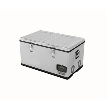75L Camping Fridge Freezer DC 12V/24V AC 110/240V Cooler Car Fridge compact Refrigerator for Caravan & Home