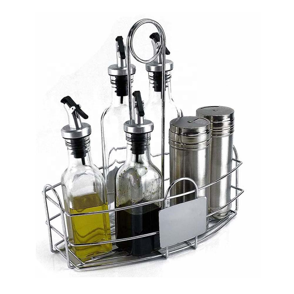 Many kinds of condiment stand / <strong>holder</strong>- chrome caddy organizer-for all tabletops of home &amp; kitchen &amp; restaurant &amp; picnic