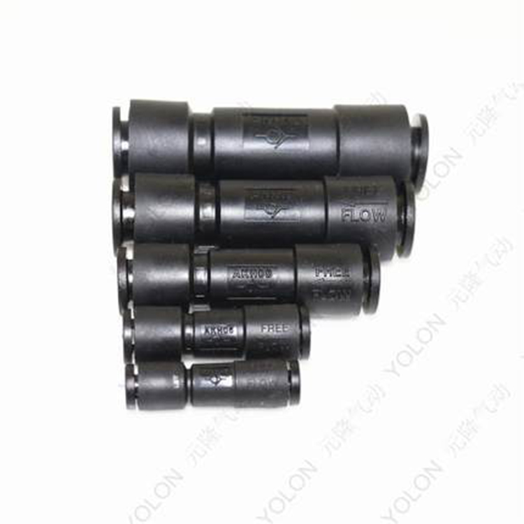 AKH4 AKH6 AKH8 AKH10 AKH12 valve series fittings with one way check valve quick connect cylinder fitting