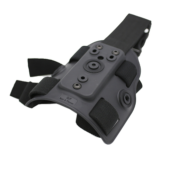 Tactical Military Polymer/Plastic Gunflower Drop Leg Holsters Platform Glock 17 19