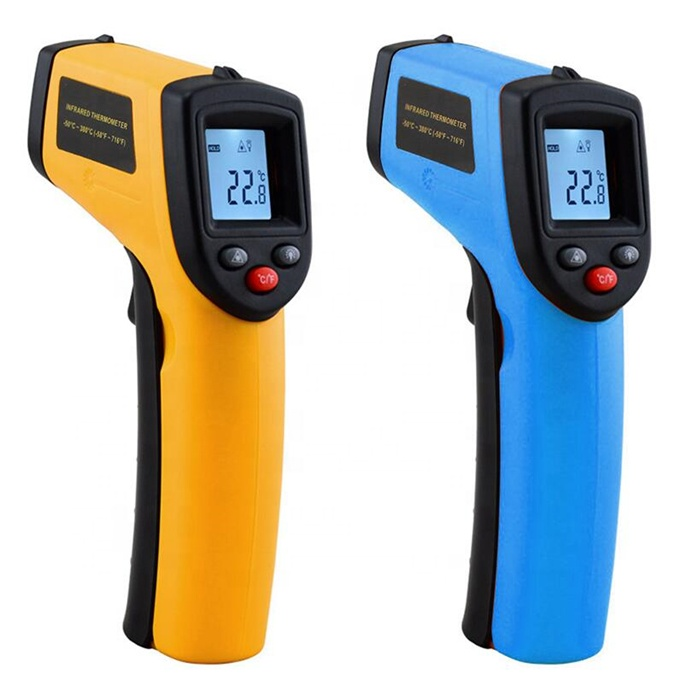 Digital GM320 Infrared Thermometer Non-Contact Temperature Meter Pyrometer IR Laser Point Gun -50~380 Celsius - KingCare   KingCare.net