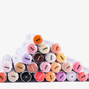 High quality cheap price non toxic marker pen for kids alcohol drawing multi-color jumbo